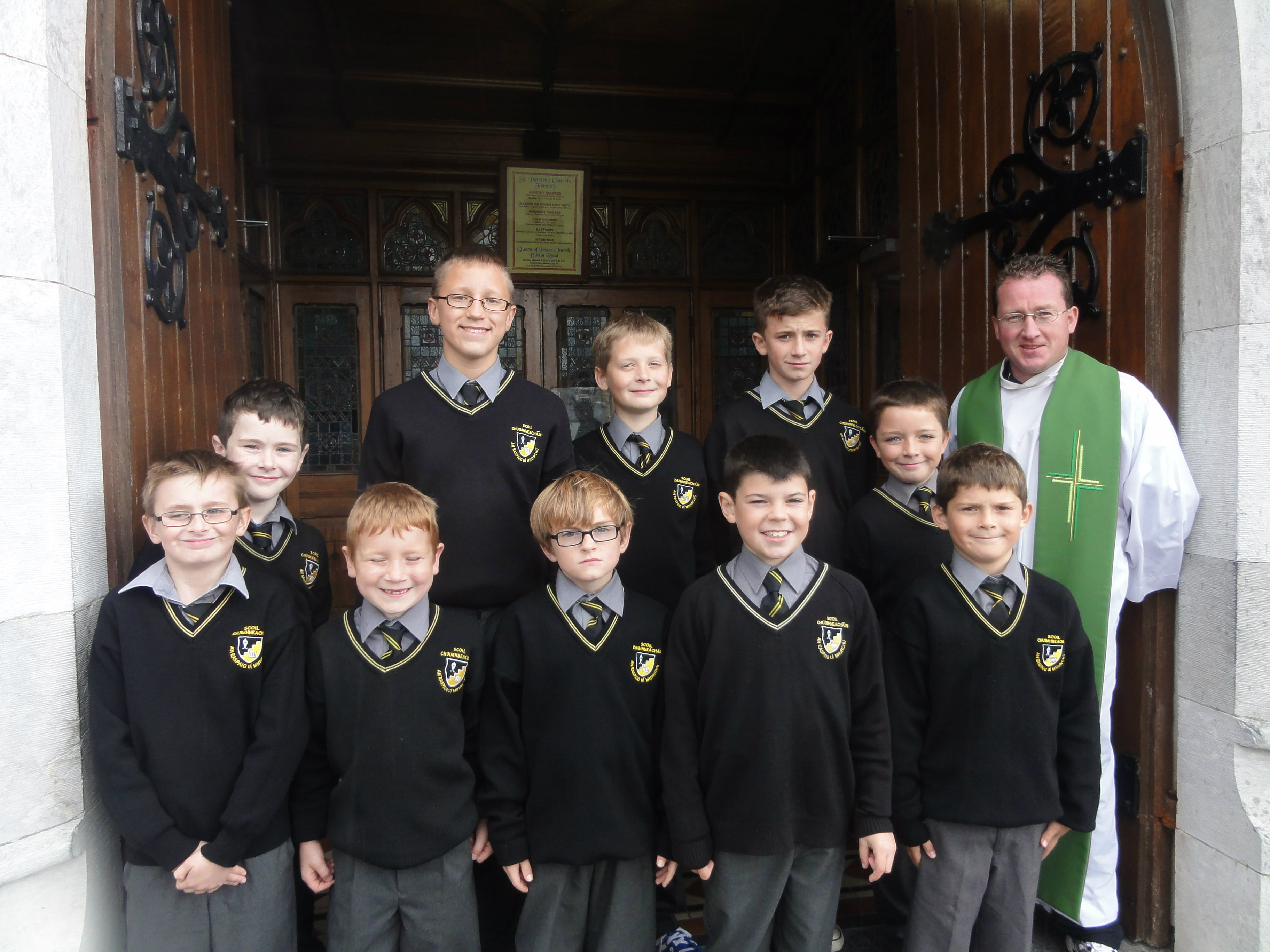 Our first school mass of the year