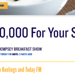 Today FM and Keelings Competition