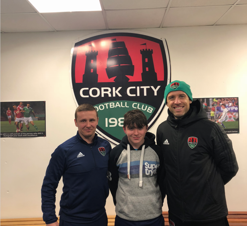 BMMS pupil signs for Cork City FC