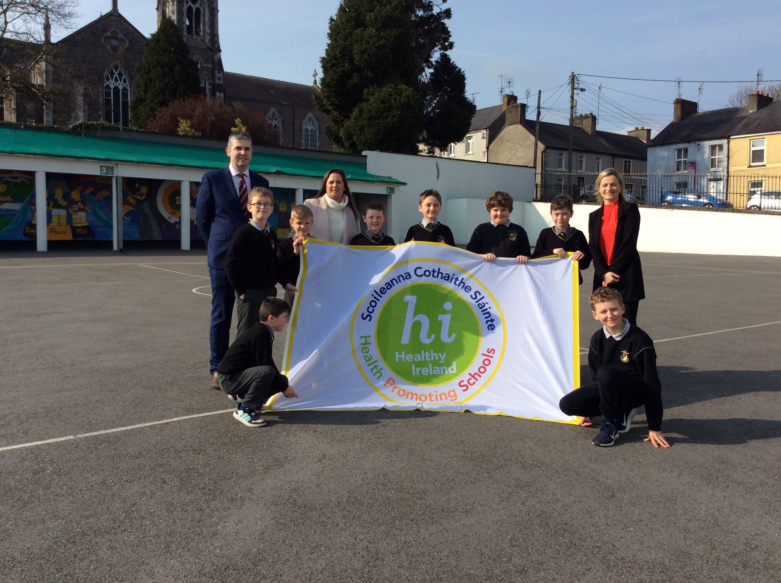Health Promoting Schools Flag Day