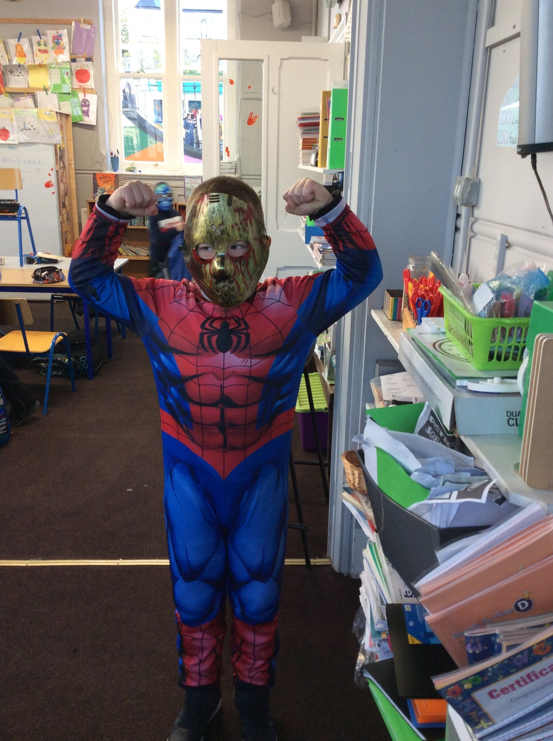 Happy Halloween from second class!